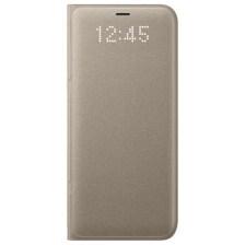 Θήκη Samsung LED View για G950 Galaxy S8 Χρυσή (EFNG950PFEGWW)