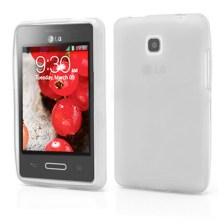 Θήκη TPU για LG E430 Optimus L3 II Λευκή Mjoy 0009090717