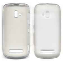 Θήκη TPU για Nokia Lumia 610 Λευκή Mjoy 106101409