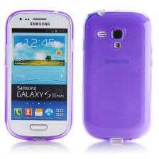 Θήκη TPU για Samsung i8190 Galaxy S3 Mini Μωβ Mjoy 0009091591