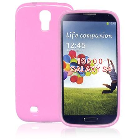 Θήκη TPU για Samsung I9500 Galaxy S4 Ροζ Mjoy 0009090584