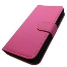 Θήκη Πορτοφόλι Slim για HTC Desire 510 Ροζ Mjoy MJ11485