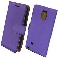 Θήκη Πορτοφόλι Slim για Samsung N910 Galaxy Note 4 Μωβ Mjoy MJ11324