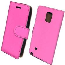 Θήκη Πορτοφόλι Slim για Samsung N910 Galaxy Note 4 Ροζ Mjoy MJ11322
