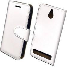 Θήκη Πορτοφόλι Slim για Sony Xperia E1 Λευκή Mjoy MJ11431