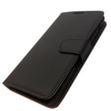 Θήκη Πορτοφόλι Slim για Sony Xperia E4 Μαύρη Mjoy MJ11531