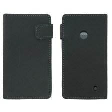 Θήκη Πορτοφόλι για Nokia Lumia 520 Γκρι Mjoy MJ10516