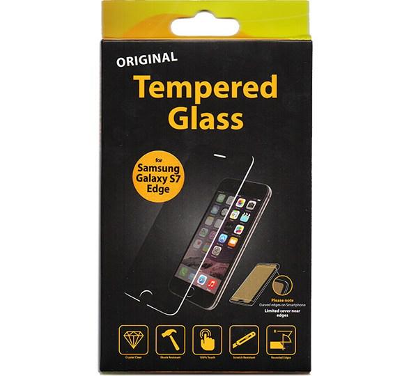 Προστατευτικό Τζάμι Οθόνης TT Edge to Edge Μαύρο για Samsung G935 Galaxy S7 Edge (TCT10323)