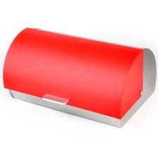 Ψωμιέρα Χρωματιστή Home&Style 6160309R-4 Κόκκινη