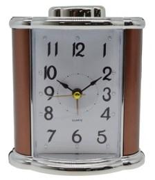 Ρολόι-Ξυπνητήρι 772421 Μπρονζέ-Ασημί