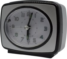 Ρολόι-Ξυπνητήρι 760169 Ασημί