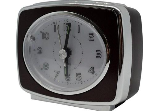 Ρολόι-Ξυπνητήρι 760152 Καφέ