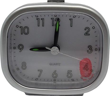 Ρολόι-Ξυπνητήρι 760060 Ασημί