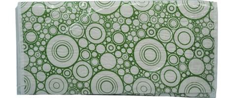 Σιδερόπανο με Κορδόνι Βαμβακερό 46x130cm Πράσινο (764785)