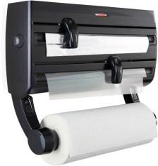 Επιτοίχια Βάση για Ρολό Κουζίνας Leifheit Roll Holder Parat F2 Black 25777
