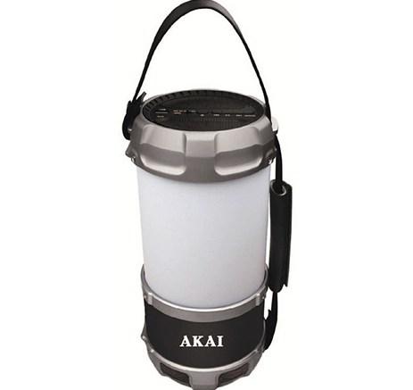 Φορητό Ηχείο Bluetooth Πολύχρωμο Φανάρι Led & Powerbank Akai ABTS-S38