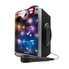 Φορητό Ηχείο Bluetooth με Led Μικρόφώνο & FM Akai CEU7300-BT