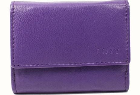 Πορτοφόλι Γυναικείο Μονόχρωμο Cozy 632 Μωβ