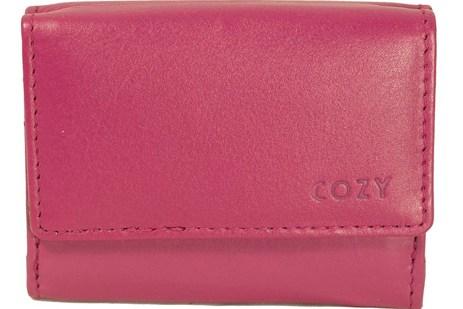 Πορτοφόλι Γυναικείο Μονόχρωμο Cozy 632 Ροζ