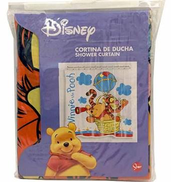 Κουρτίνα Μπάνιου Πλαστική Winnie The Pooh 1,80x1,80cm Home&Style 00411140-24