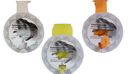 Κρεμάστρακι Πλαστικό για Πόρτες & Ντουλάπια Home&Style 915201216-24