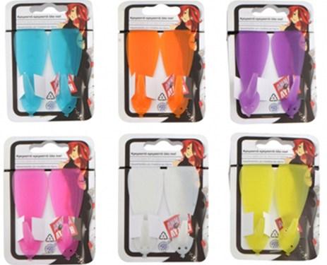 Κρεμαστράκια Πλαστικά Σετ 2τμχ για Πόρτες & Ντουλάπια Home&Style 915183516-12