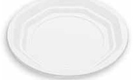 Πιάτο Πάστας μιας Χρήσης Λευκό Σετ 20τμχ Tanipack 2338068-100