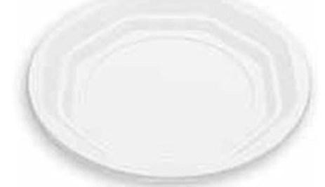 Πιάτο Φρούτου μιας Χρήσης Λευκό Σετ 20τμχ Tanipack 2338061-100