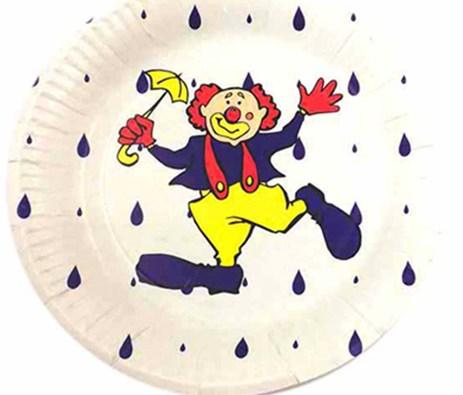 Πιάτο Χάρτινο Παιδικό 18cm Σετ 10τμχ Home&Style 3671018-50