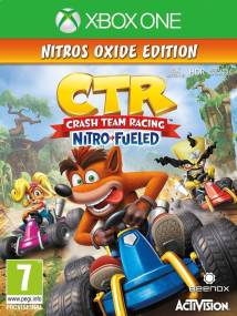 Crash Team Racing Nitro Fueled D1 Nitros Oxide Edition - XBox One Game