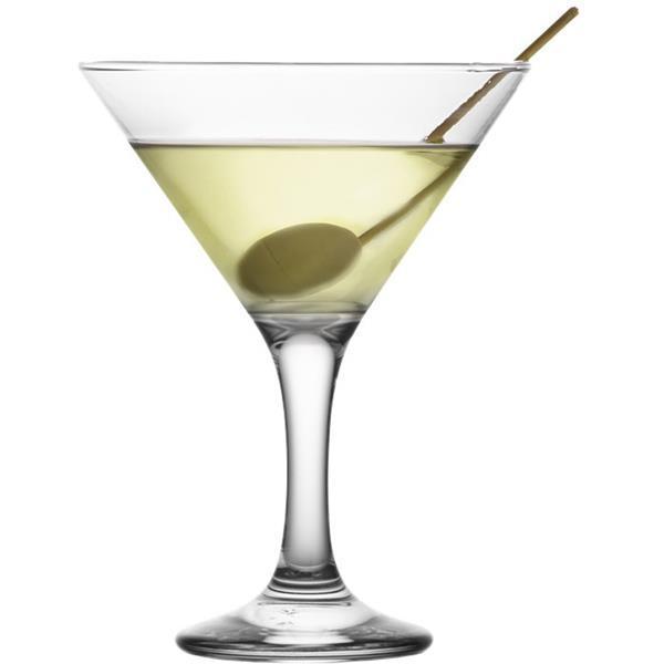 Γυάλινο Ποτήρι Κολωνάτο Martini 17.5cl Artcraft-Lav Misket MIS586Z Σετ 24τμχ