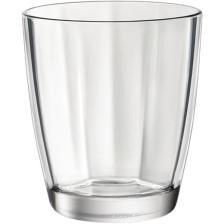 Γυάλινο Ποτήρι 30cl Bormioli Rocco Pulsar Acqua Διαφανές Σετ 6τμχ