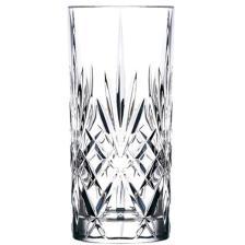 Ποτήρι Κρυστάλλινο Σκαλιστό 36cl RCR Melodia Σετ 6τμχ