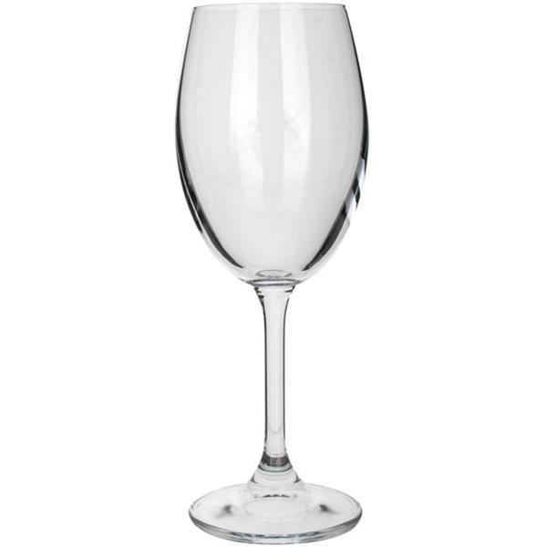 Ποτήρι Κρυσταλλίνης Κρασιού 23cl Banquet Crystal Leona Σετ 6τμχ