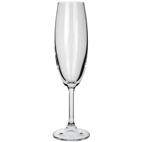 Ποτήρι Κρυσταλλίνης Σαμπάνιας 21cl Banquet Crystal Leona Flute Σετ 6τμχ