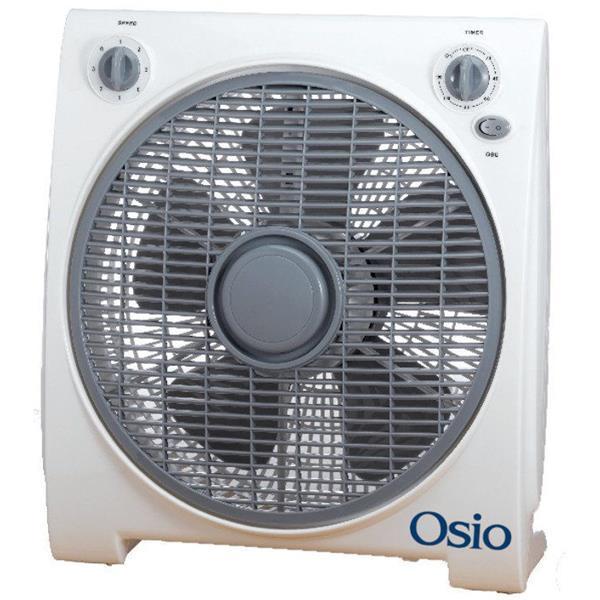 Ανεμιστήρας Box Fan με Χρονόμετρο 30cm Osio EFB-4020