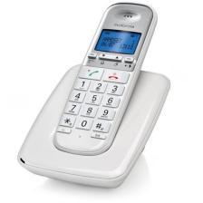 Ασύρματο Τηλέφωνο Συμβατό με Ακουστικά Βαρηκοϊας Motorola S3001 Λευκό