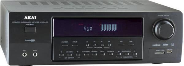 Ραδιοενισχυτής με Bluetooth, Usb & Karaoke Akai AS110RA-320BT