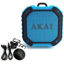 Αδιάβροχο Ηχείο Bluetooth FM, MicroSD Akai ABTS-B7