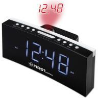 Ψηφιακό Ξυπνητήρι με Προτζέκτορα, Φως, Ραδιόφωνο First FA-2420-4