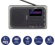 Φορητό Ψηφιακό Ραδιόφωνο USB/MicroSD Akai APR-210