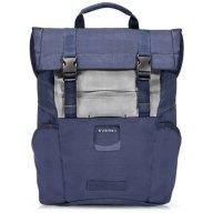 Roll Top Backpack για Laptop Έως 15.6 Everki EKP161N Navy