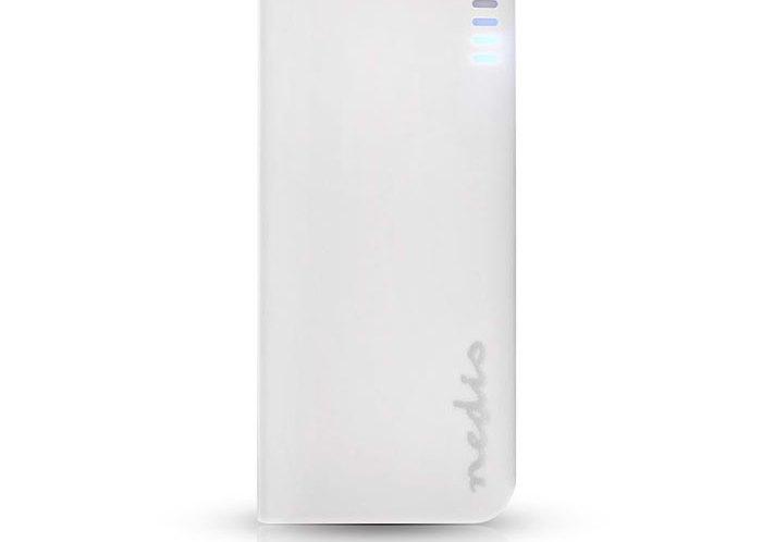 Power Bank 4000mAh Nedis UPBK4000WT Λευκό