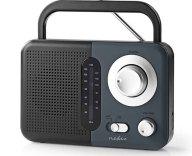 Φορητό Ραδιόφωνο FM Nedis RDFM1300GY Μαύρο/Γκρι