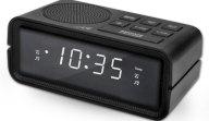 Ραδιό-Ρολόι Ξυπνητήρι με Οθόνη Led Life RAC-001 Μαύρο