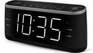 Ραδιό-Ρολόι Ξυπνητήρι με Οθόνη Led Life RAC-003 Μαύρο