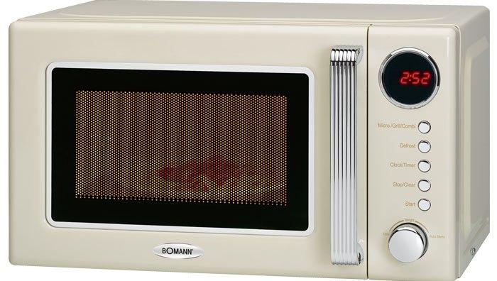 Φούρνος Μικροκυμάτων Retro με Grill 20lt Bomann MWG 2270 CB