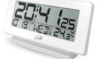 Ψηφιακό Ρολόι Ξυπνητήρι με Οθόνη LCD Life ACL-200 Λευκό