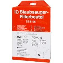 Σακούλες για Ηλεκτρικές Σκούπες Bomann & Clatronic Bomann SSB 98