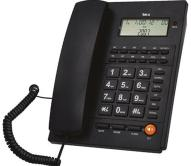 Ενσύρματο Τηλέφωνο Telco ΤΜ-PA117 Μαύρο